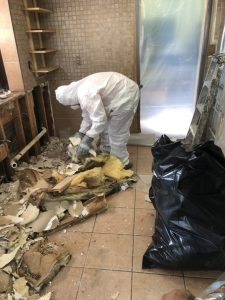water damage restoration cleanup